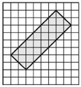На клетчатой бумаге с размером клетки ... изображён прямоугольник.