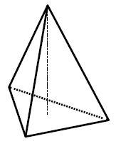 Найдите объём правильной треугольной пирамиды, стороны основания которой равны ..., а высота равна ....